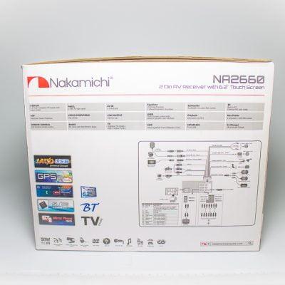 Radio Nakamichi NA3610 – DVD Doble Din BT USD