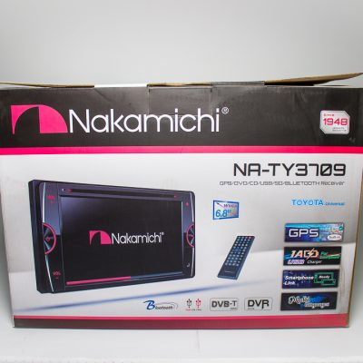Radio Nakamichi NATY3709 – DVD Doble Din BT USD