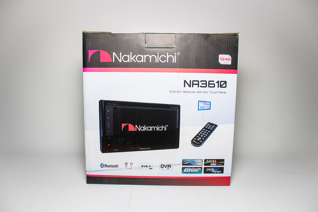Radio Nakamichi NA3610 – DVD Doble Din BT USD